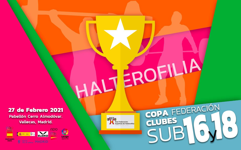 Resultados Copa Federación Clubes Sub 16 y Sub 18.
