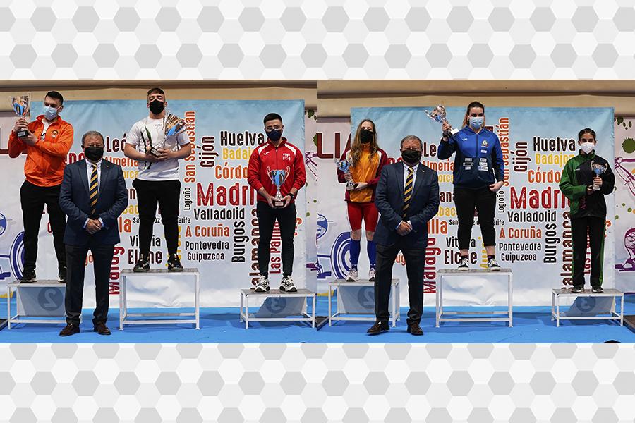 Resultados del Campeonato de España Júnior, Vallecas 2021.