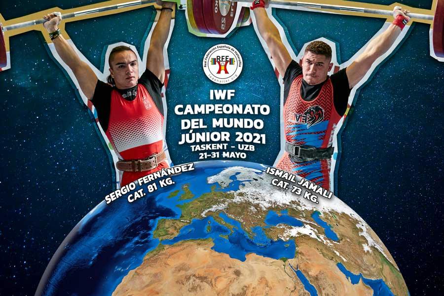 Resultados de Sergio Fernández e Ismail Jamali en el Mundial Júnior 2021.