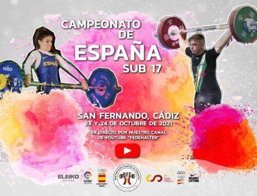 CAMPEONATO DE ESPAÑA SUB 17, SAN FERNANDO, CÁDIZ, 2021